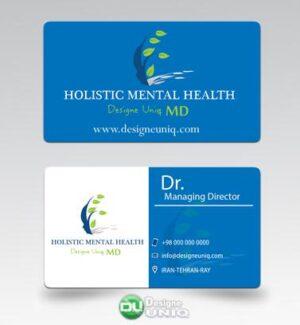دانلود کارت ویزیت بهداشت روان جامع سلامت روان بالینی