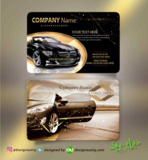 کارت ویزیت نمایشگاه اتومبیل اتو گالری طرح زیبای کارت ویزیت نمایشگاه اتومبیل اجاره ماشین